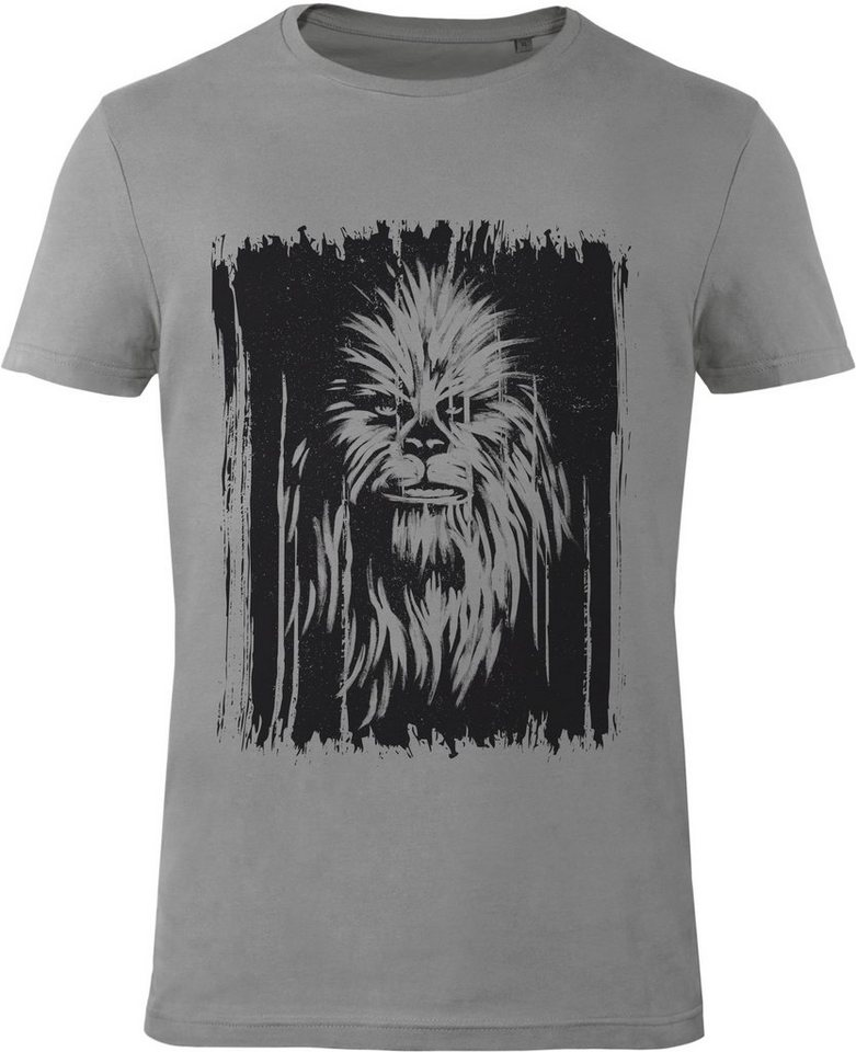 Gozoo T-Shirt »Star Wars - Vintage Wookiee« in Grey