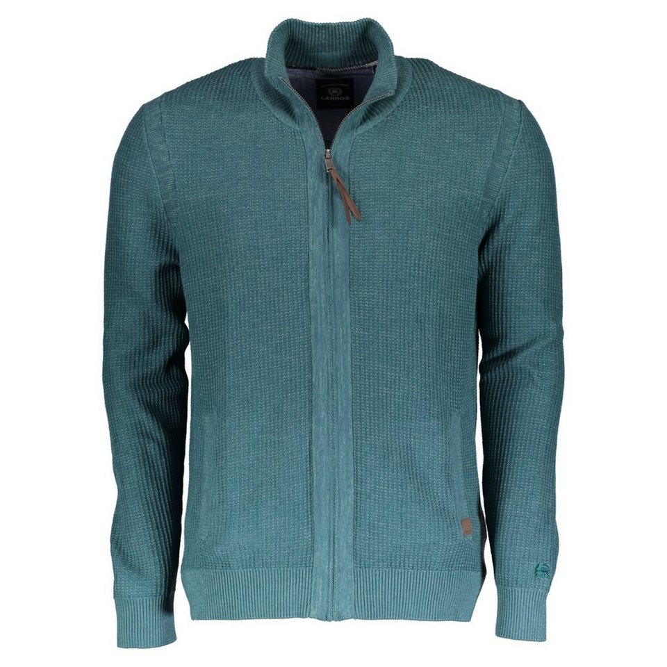 LERROS Strickjacke in GREEN