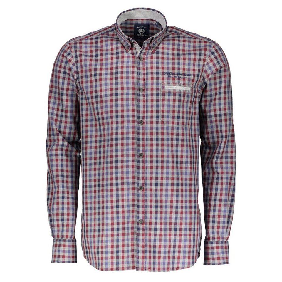 LERROS LERROS Button-Down-Hemd in RED