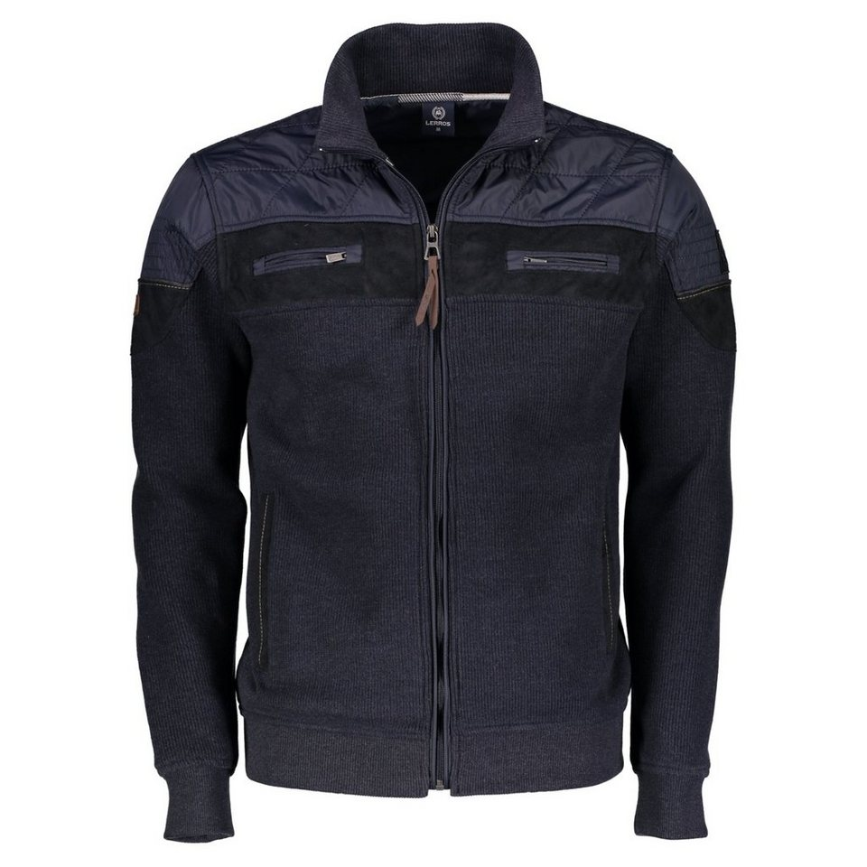 LERROS Sweatjacke in NAVY