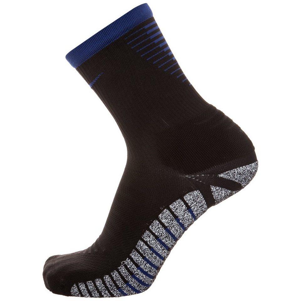 NIKE Grip Strike Lightweight Crew Socken Herren in blau / schwarz