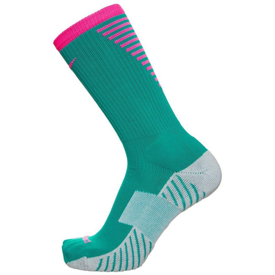 NIKE Stadium Football Crew Socken Herren in grün / pink