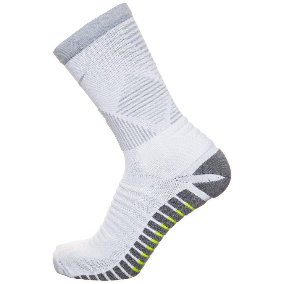 NIKE Strike Mercurial Crew Socken in weiß / grau