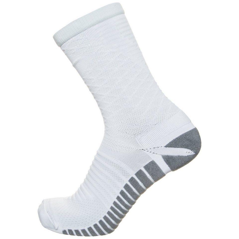 NIKE Strike Tiempo Football Crew Socken Herren in weiß / grau