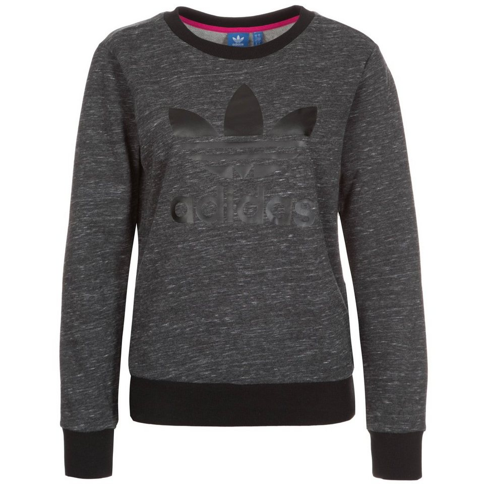 adidas Originals Trefoil Crew Sweatshirt Damen in grau