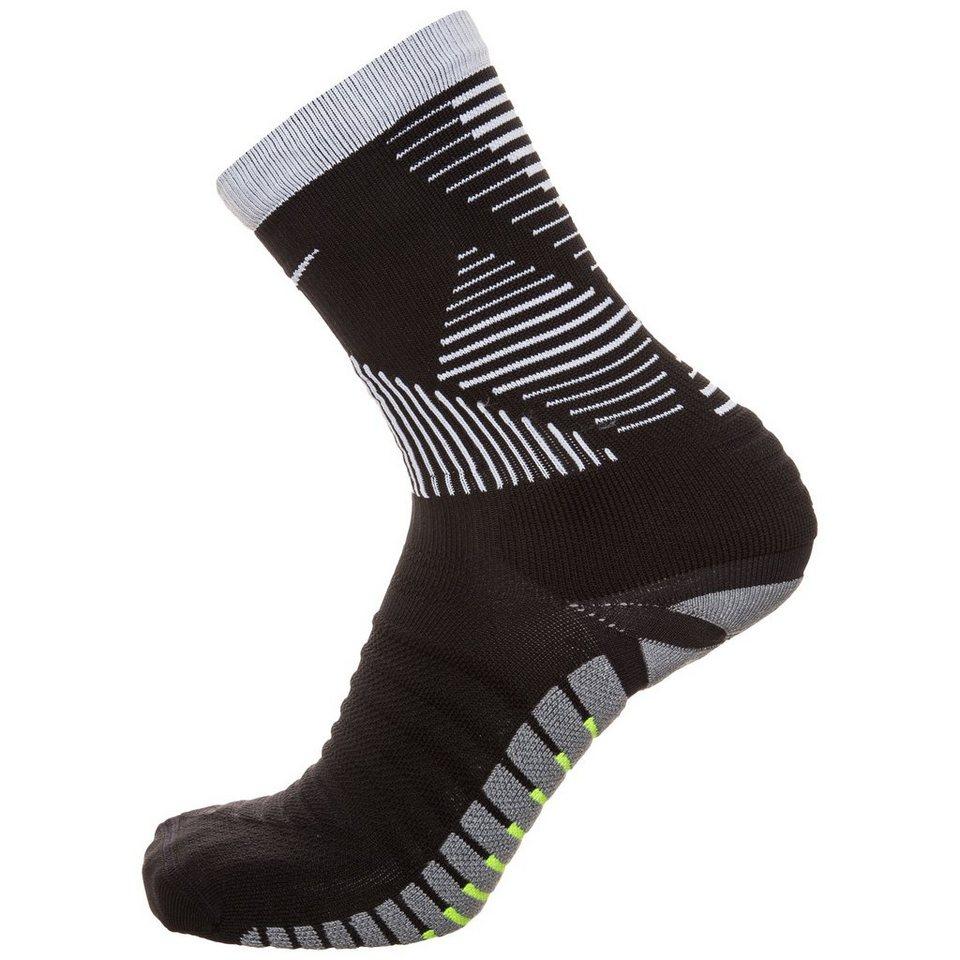 NIKE Strike Mercurial Crew Socken in schwarz / grau