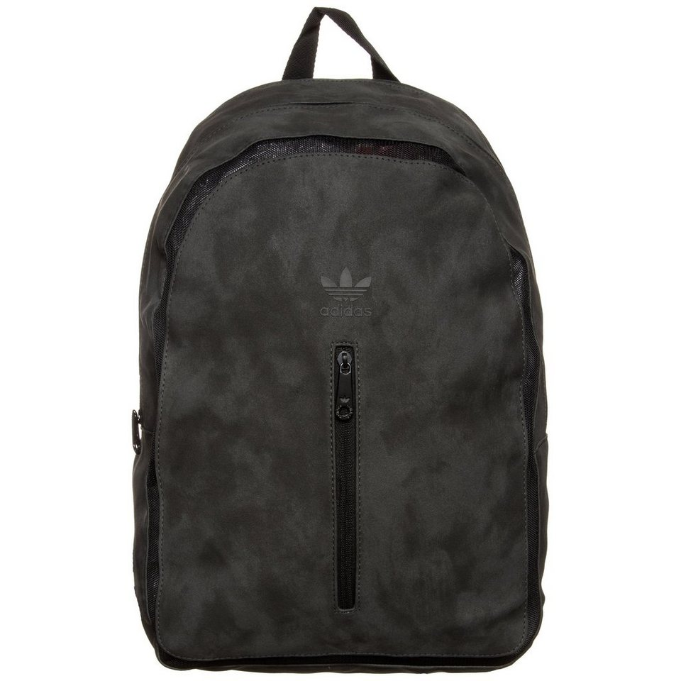 adidas Originals Essential September Rucksack in grau / schwarz