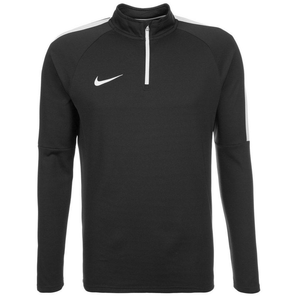 NIKE Academy Drill Trainingsshirt Herren in schwarz / weiß
