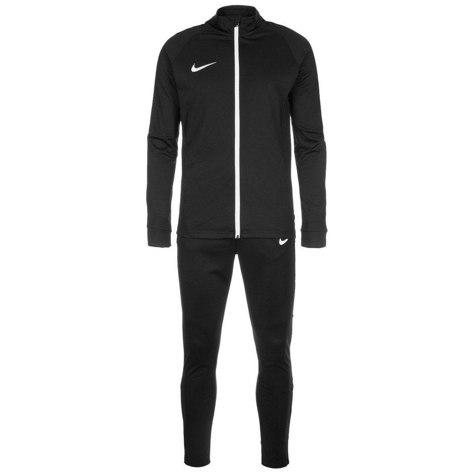 NIKE Set: Dry Academy Trainingsanzug Herren in schwarz / weiß