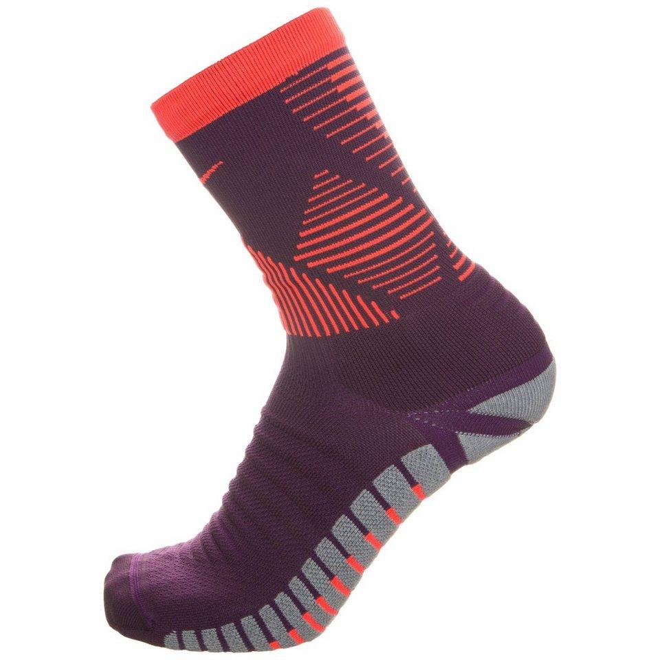 NIKE Set: Strike Mercurial Crew Socken in lila / neonrot