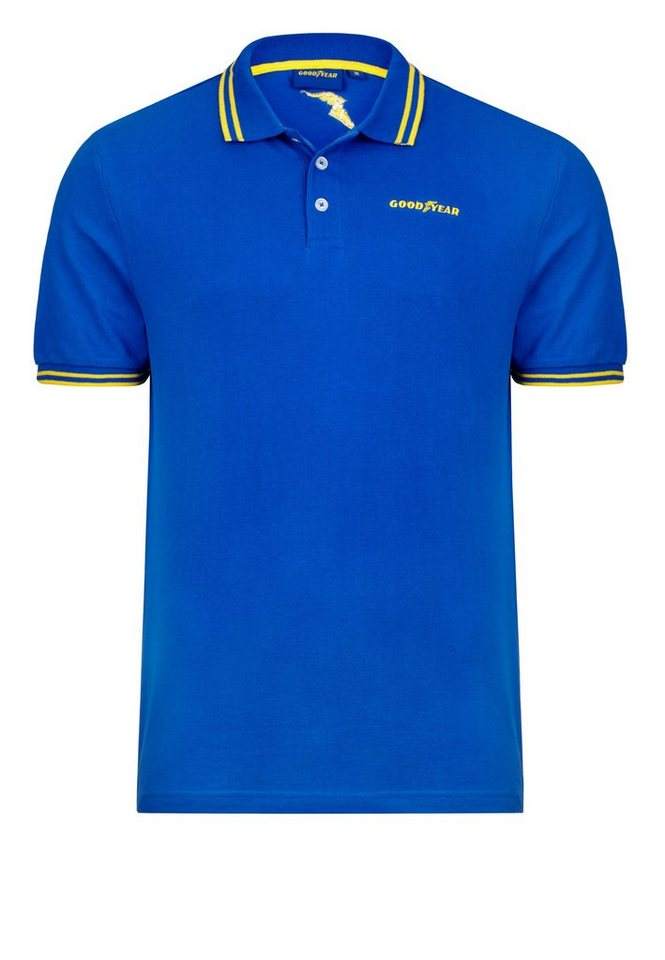 Goodyear Poloshirt »GOODYEAR« in Majestic Blue