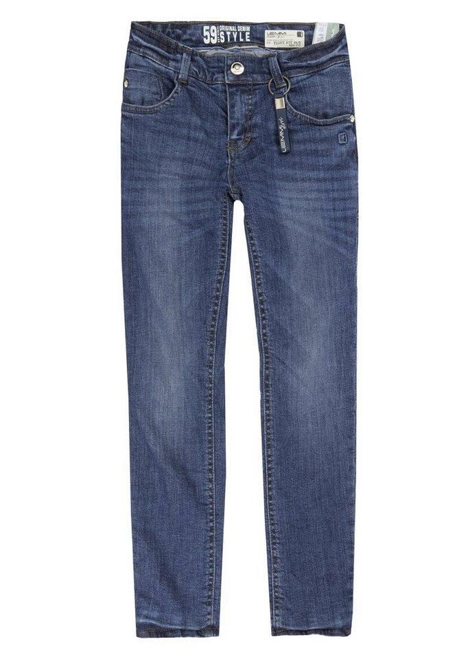 Lemmi Hose Jeans Boys tight fit BIG 1 in Blau
