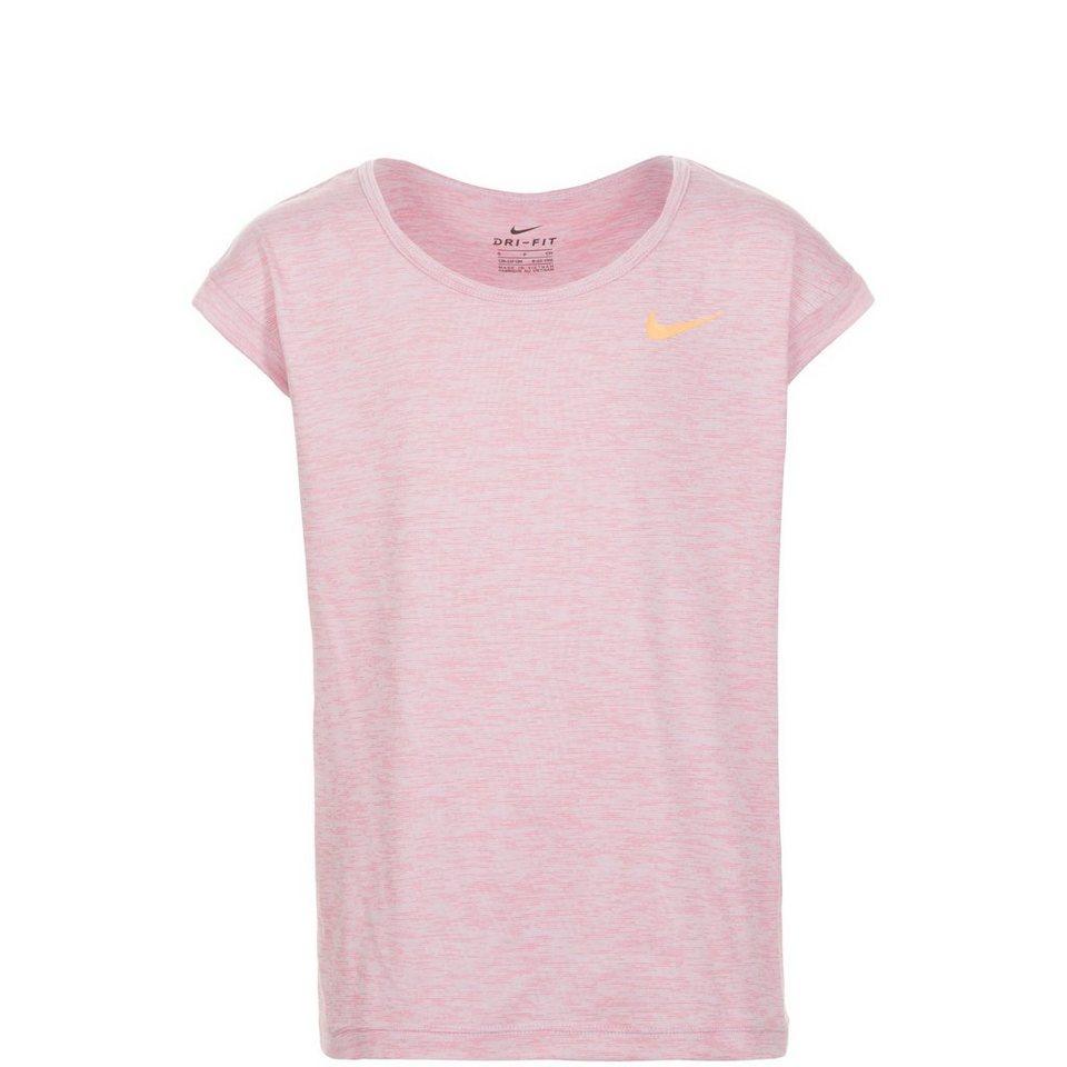 NIKE Trainingsshirt Kinder in rosa / orange