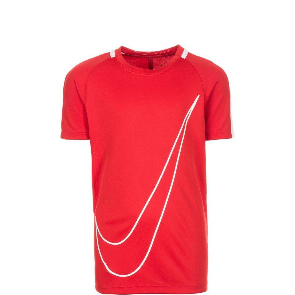 NIKE Dry Academy Trainingsshirt Kinder in rot / weiß