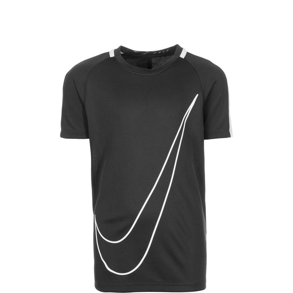 NIKE Dry Academy Trainingsshirt Kinder in schwarz / weiß