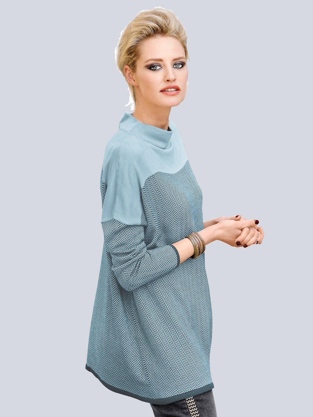 Alba Moda Pullover in trendigem Mustermix