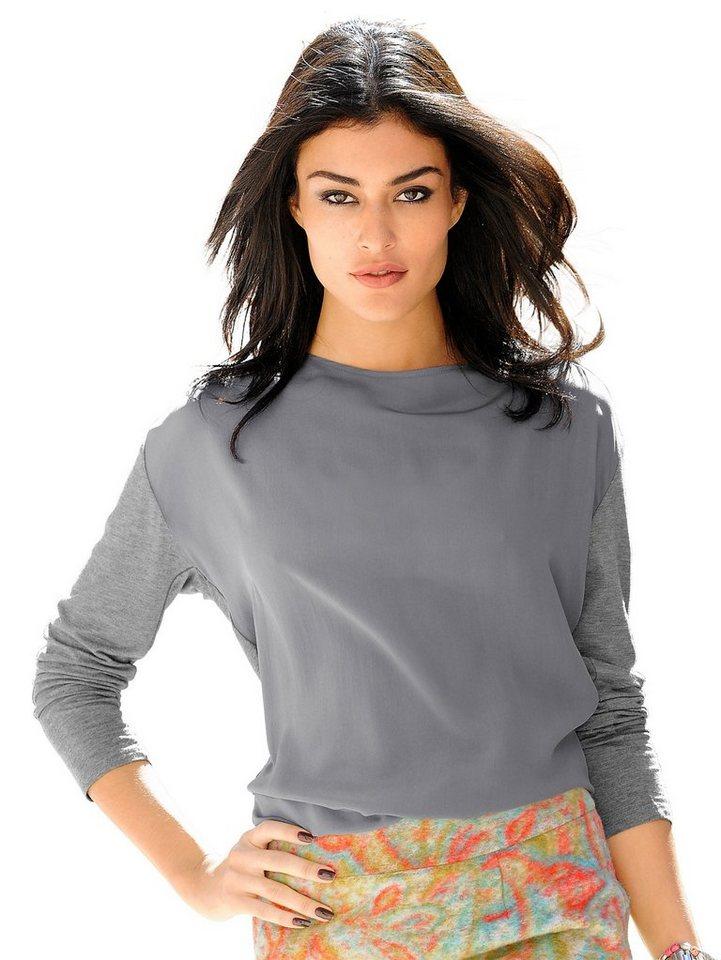 Alba Moda Shirt in graumelange