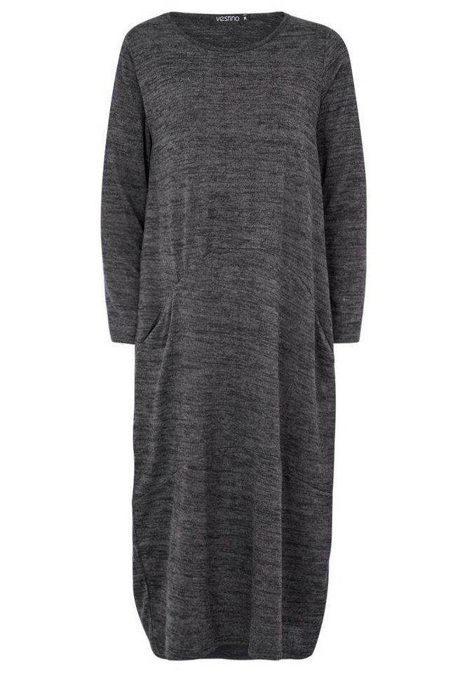 Vestino Kleid in schwarz