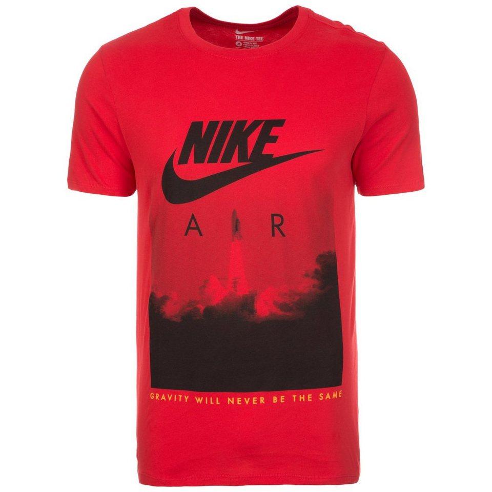 Nike Sportswear Air Rocket T-Shirt Herren in rot / schwarz