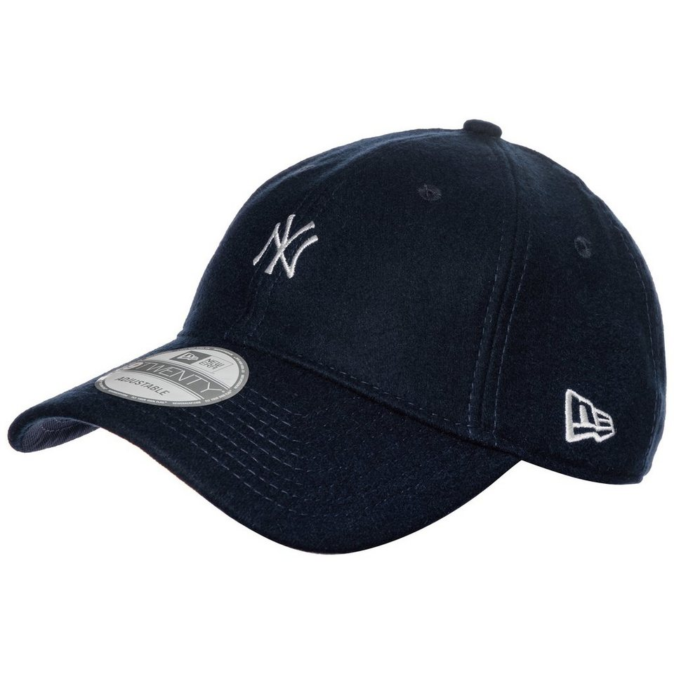 New Era 9TWENTY MLB Wool New York Yankees Cap in dunkelblau