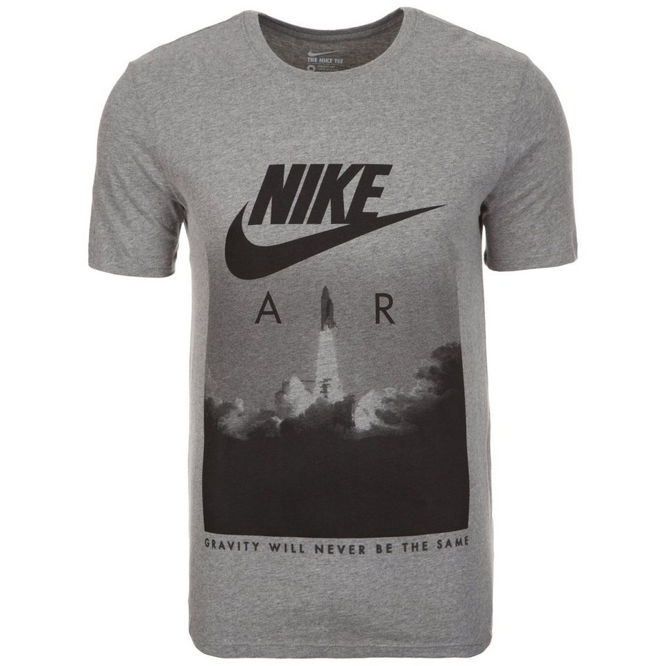 Nike Sportswear Air Rocket T-Shirt Herren in grau / schwarz