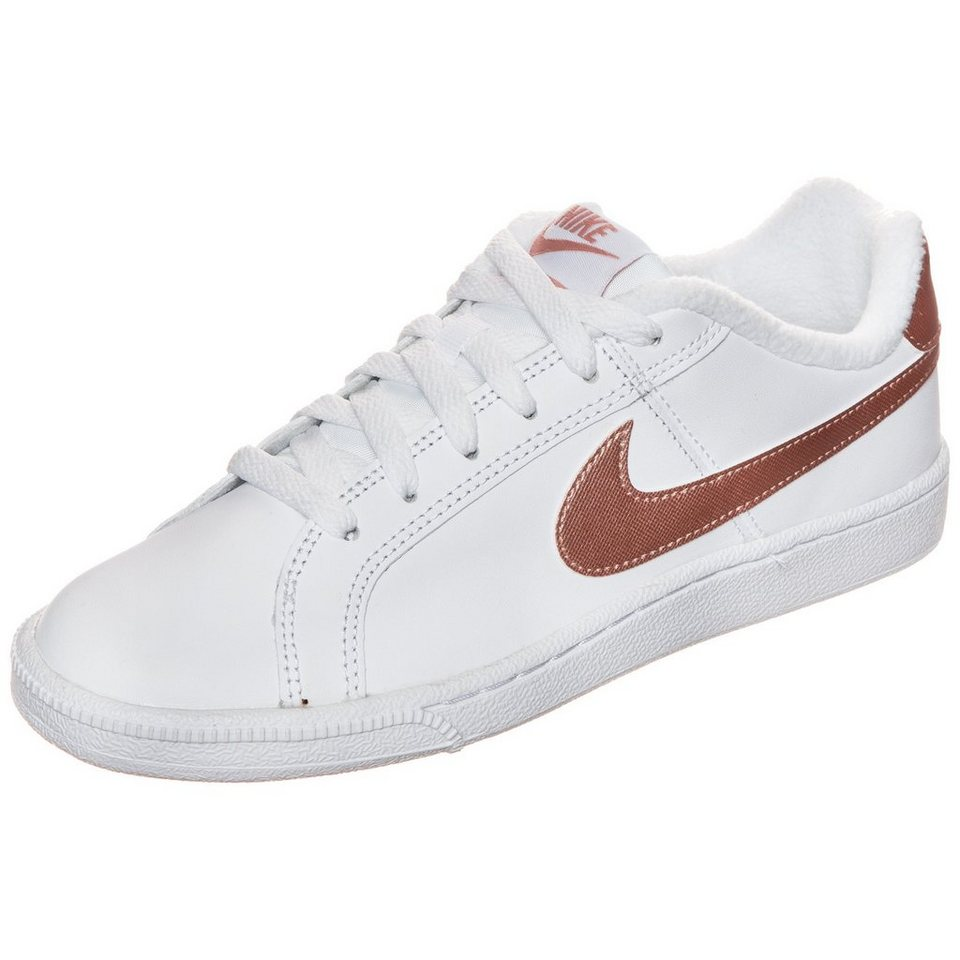 Nike Sportswear Court Royale Sneaker Damen in weiß / bronze