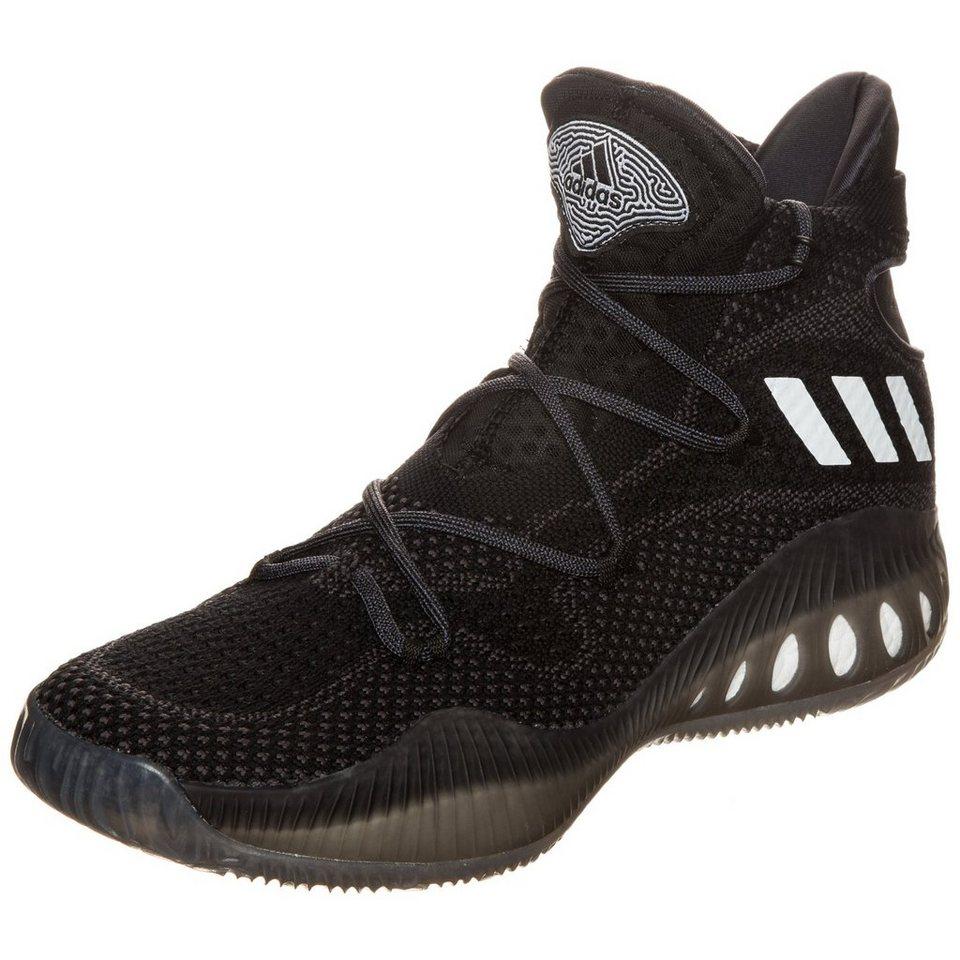 adidas Performance Crazy Explosive Primeknit Basketballschuh Herren in schwarz / anthrazit
