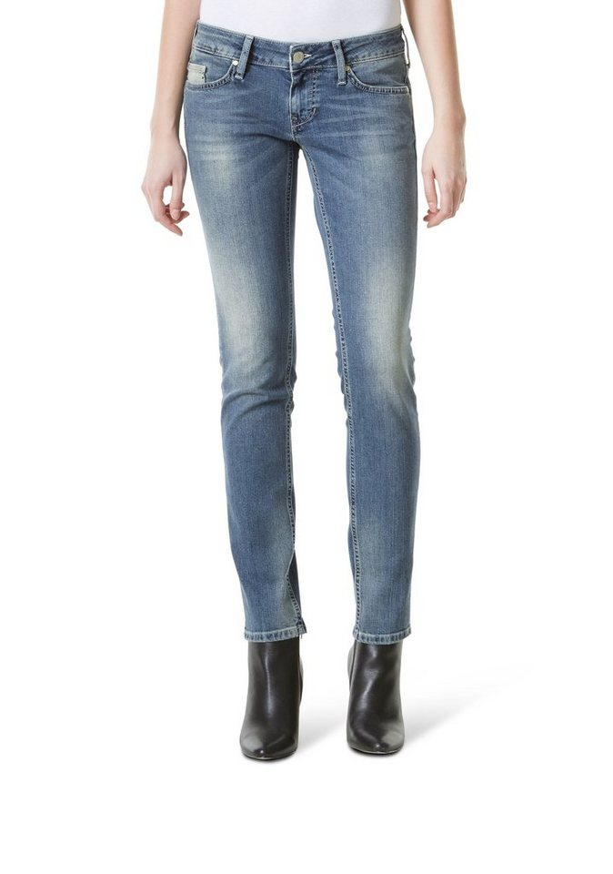 MUSTANG Jeans »Gina Skinny« in BLEACH WASHED