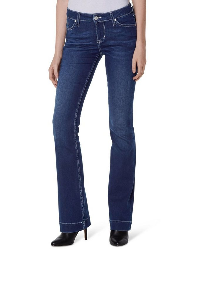 MUSTANG Jeans »Jasmin Flared« in stone