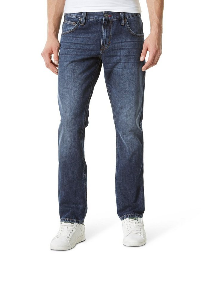 MUSTANG Jeans »Chicago Tapered« in RINSE WASHED