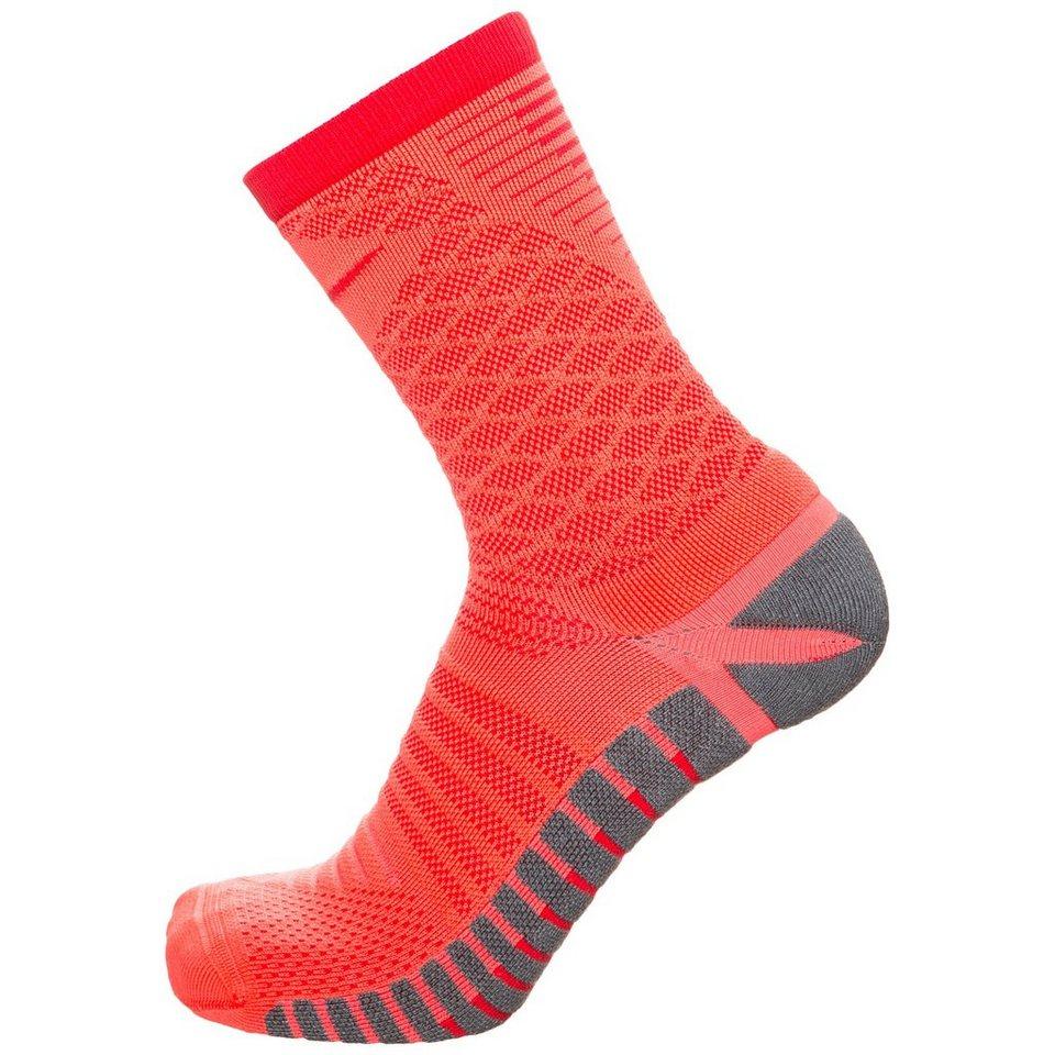 NIKE Strike Tiempo Football Crew Socken Herren in orange / grau / rot