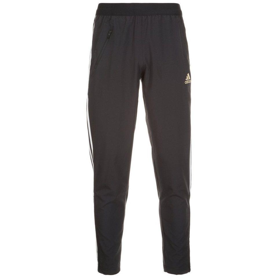 adidas Originals Woven Tapered Trainingshose Herren in schwarz / weiß