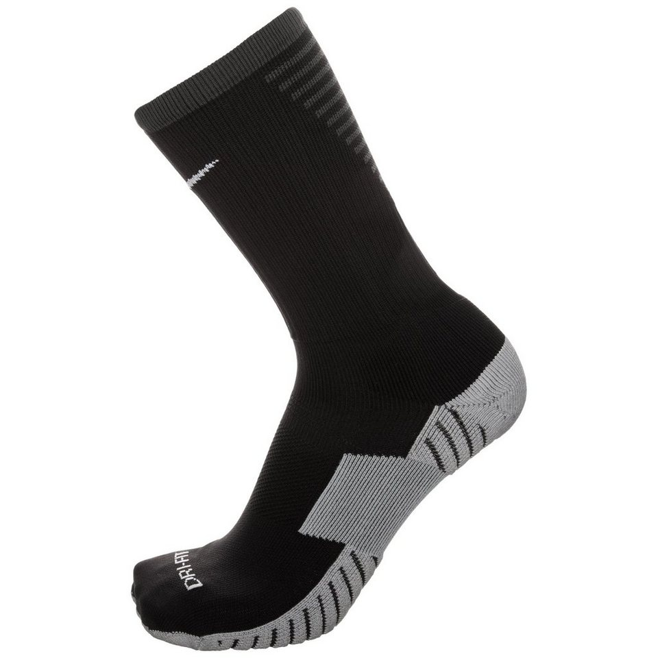 NIKE Team Match Fit Core Crew Socken in schwarz / hellgrau