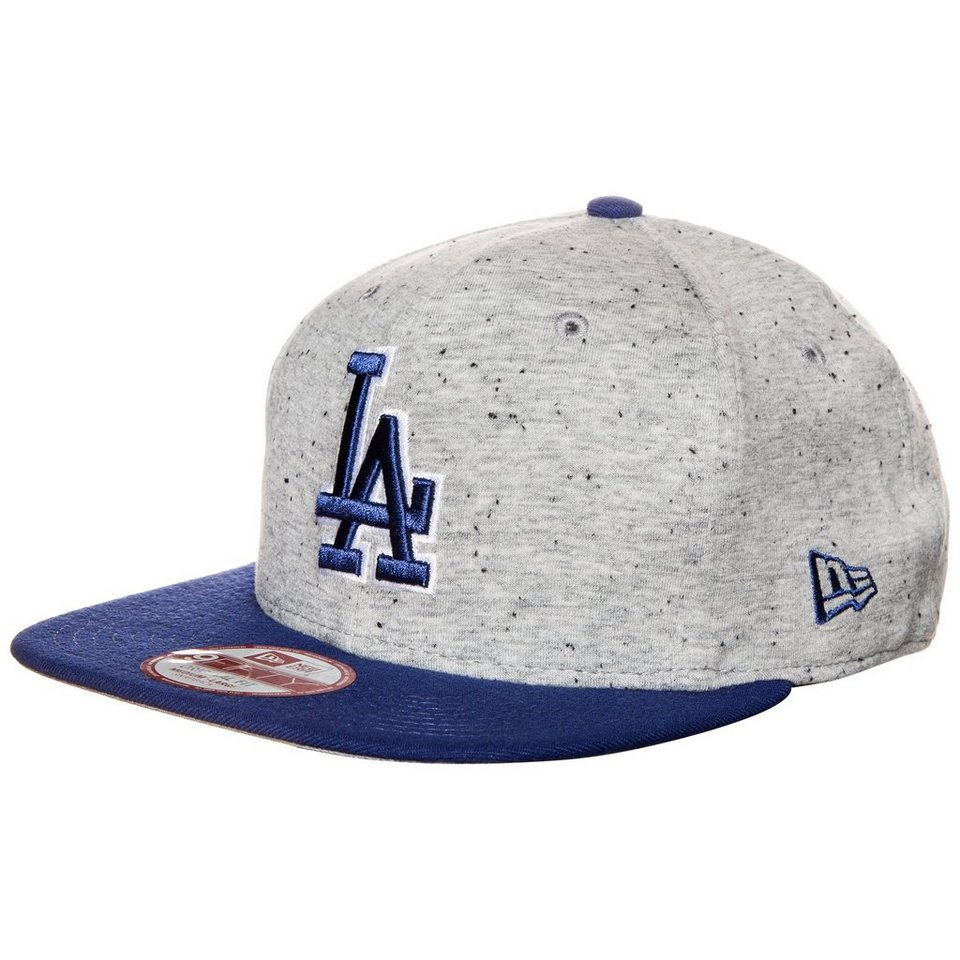 New Era 9FIFTY Jersey Team Los Angeles Dodgers Snapback Cap in grau / blau