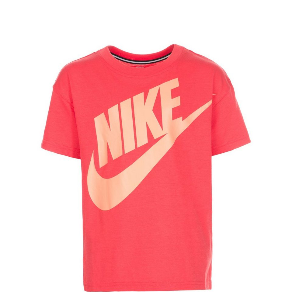 NIKE Signal GFX Trainingsshirt Kinder in rot / orange