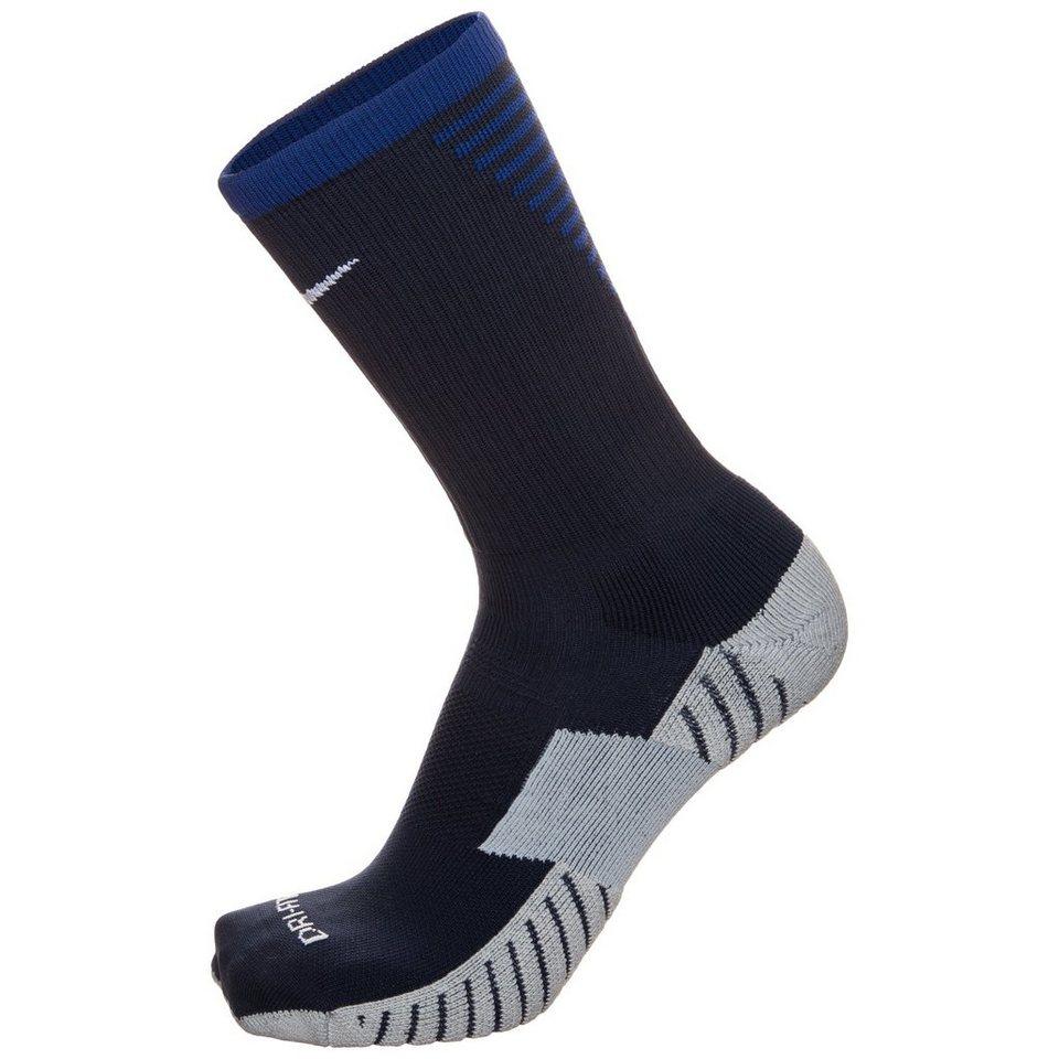 NIKE Team Match Fit Core Crew Socken in dunkelblau / blau