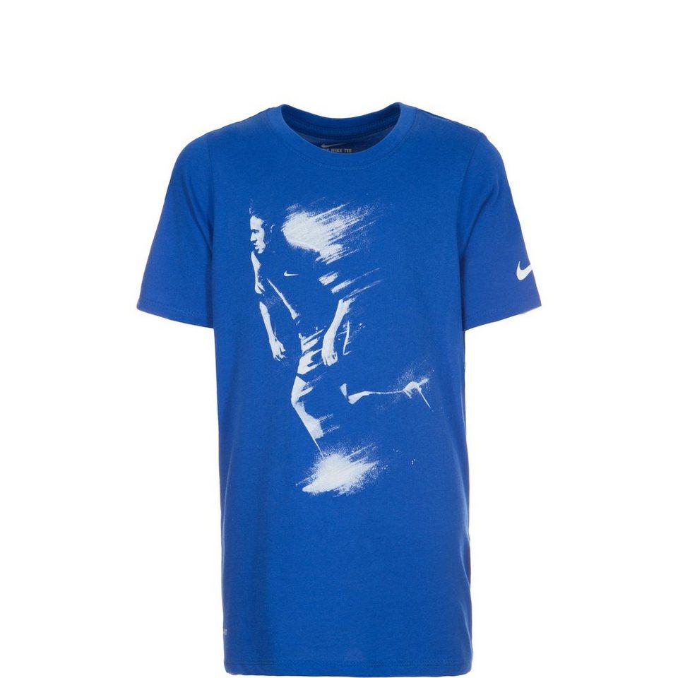 NIKE Dry Neymar Art T-Shirt Kinder in blau / weiß