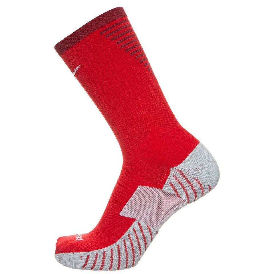 NIKE Team Match Fit Core Crew Socken in rot / weiß
