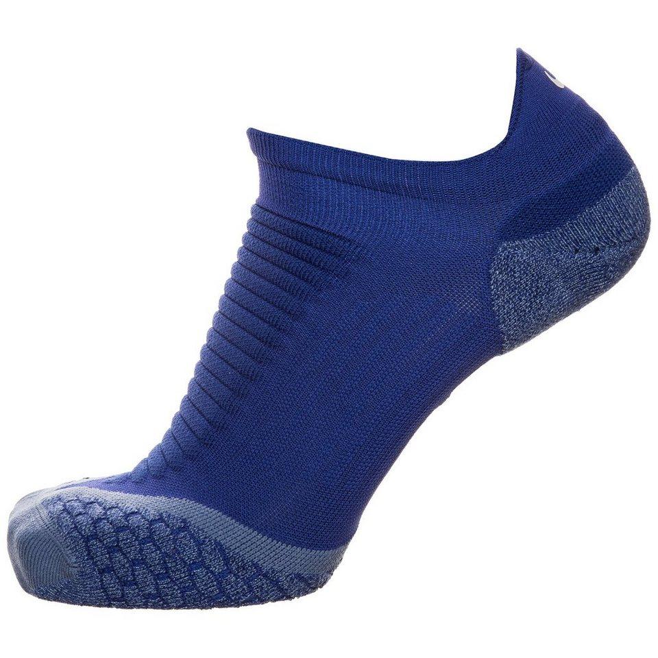 NIKE Elite Cushioned No-Show Tab Laufsocken in blau