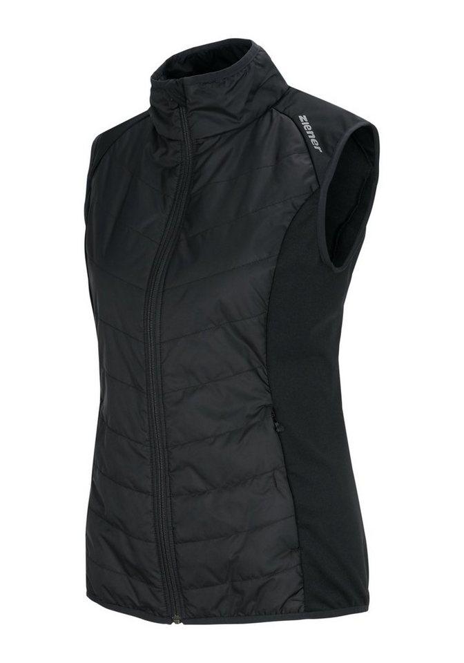 Ziener Weste »JALDA PR lady (Primaloft vest)« in black