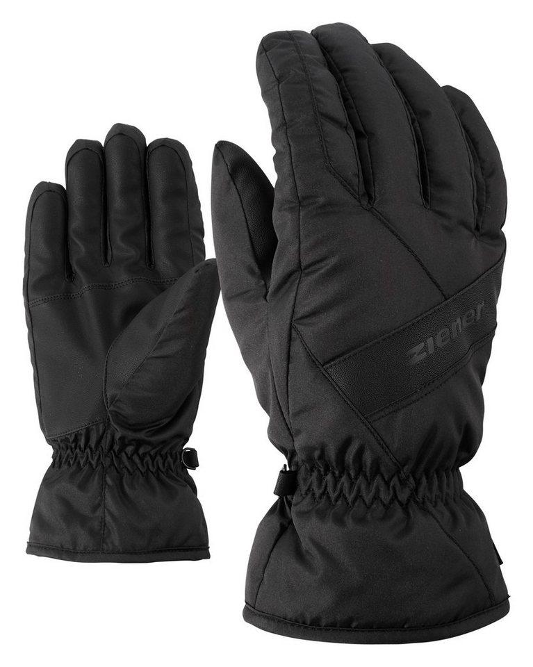 Ziener Handschuh »GUGGO glove ski alpine« in black