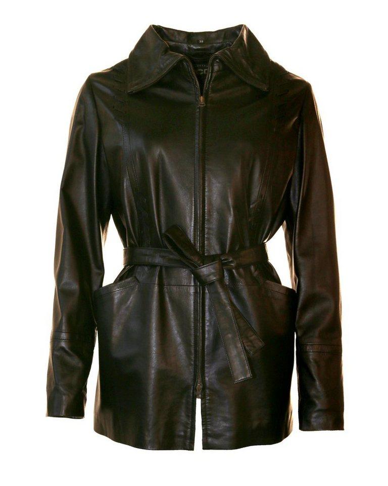 JCC Kurz-Mantel, Damen Margrat in black