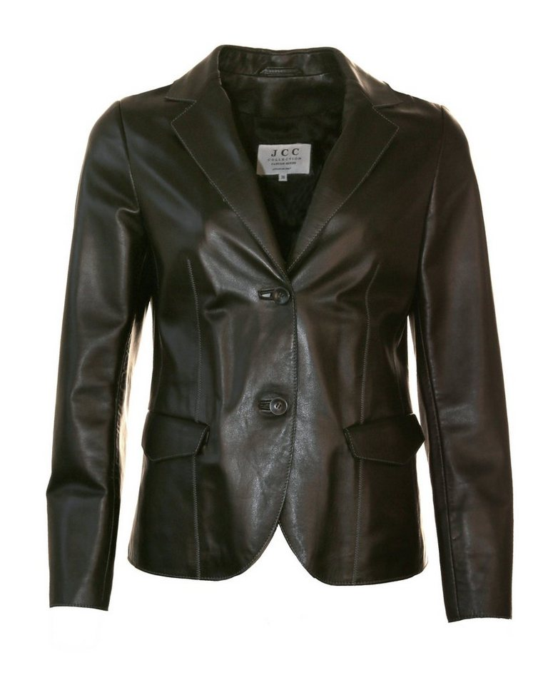 JCC Lederblazer, Damen Blaschi in black