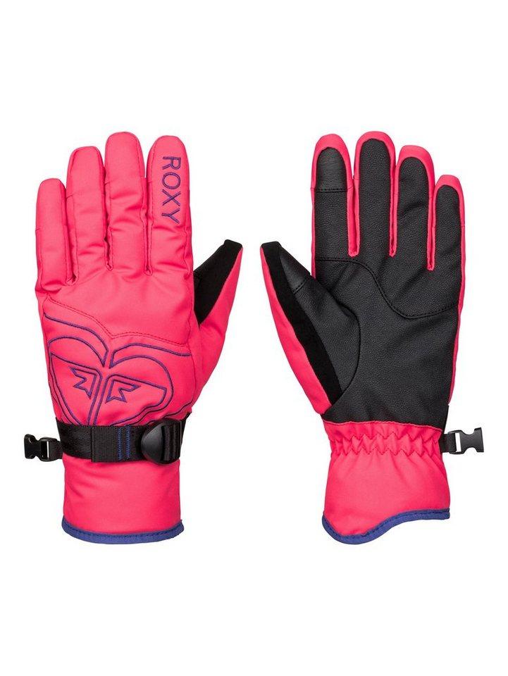 Roxy Schnee Handschuhe »Popi« in Paradise pink