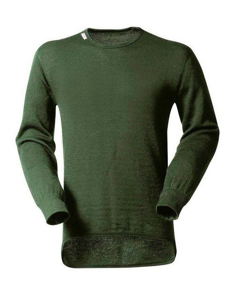 Woolpower Langarm-Unterhemd - für Sie & Ihn in Olivgrün