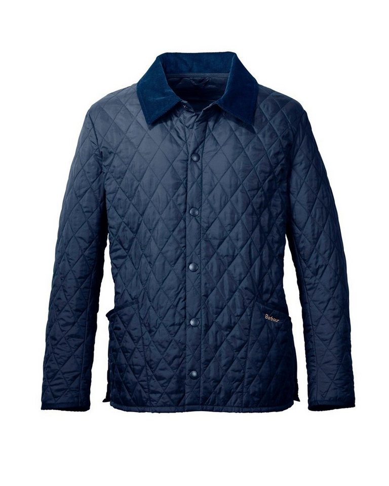 Barbour Steppjacke Liddesdale in Marine
