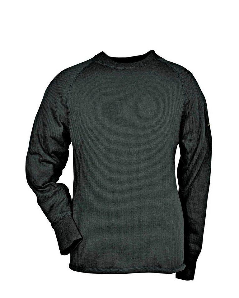 Thermo Function Langarm-Unterhemd TS 400 für Sie und Ihn in Dunkelgrün