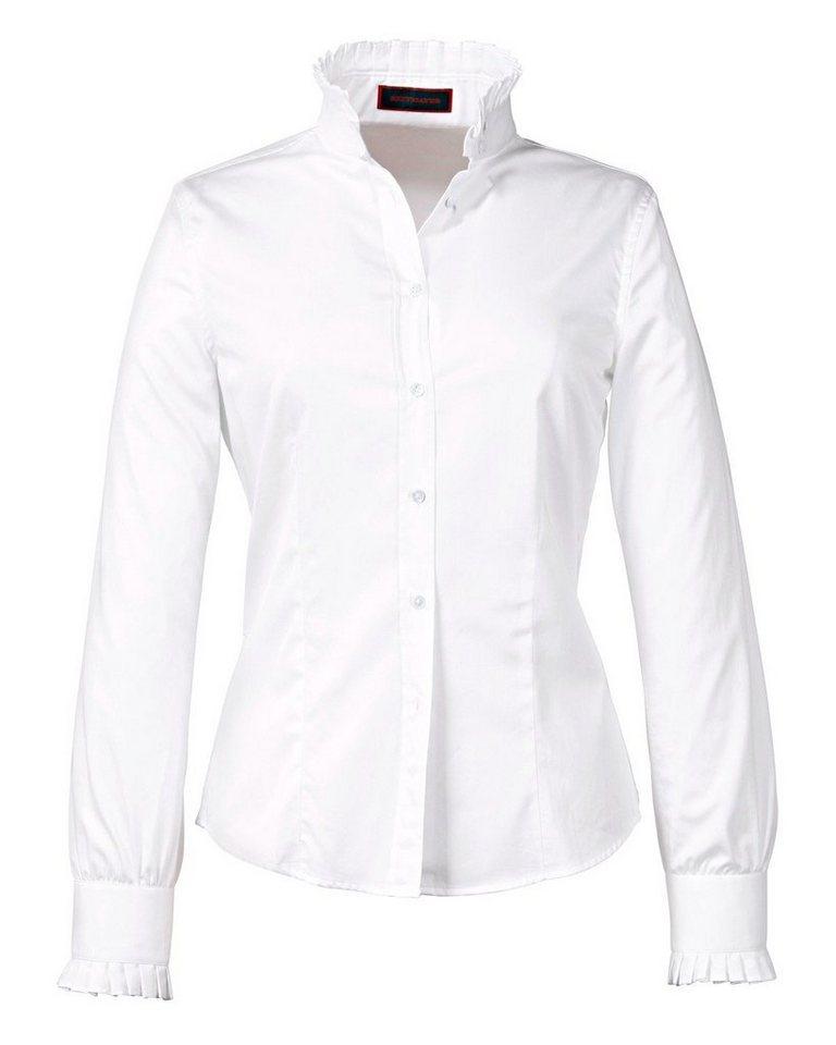 Reitmayer Bluse in Weiß