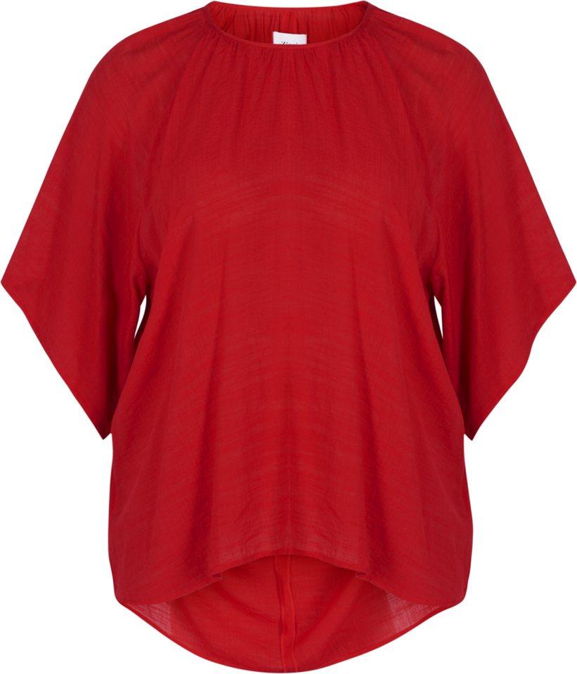 Zizzi Bluse in Tango Red
