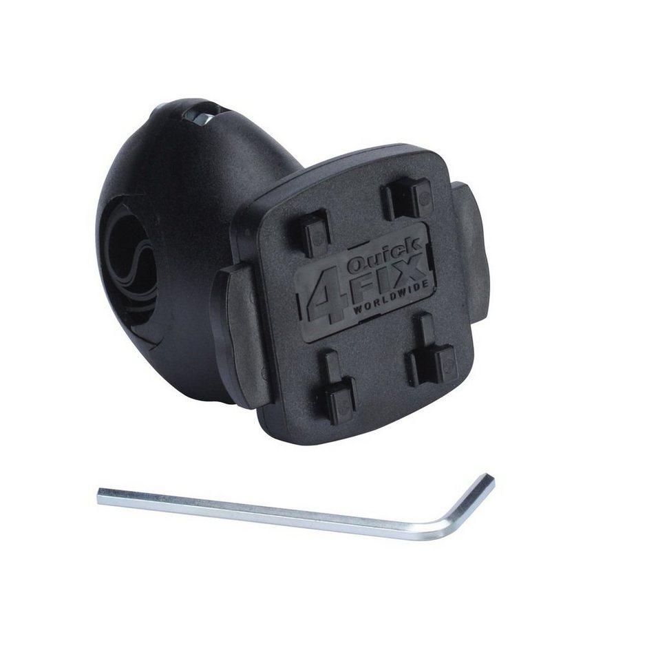 TAHUNA Halter »Kugelgelenk Fahrradhalterung« in Schwarz